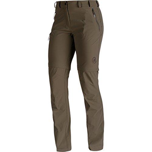 Mammut Runje Zip Off Pants Women bistre