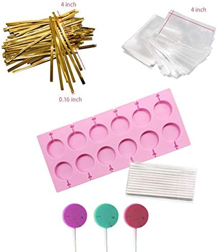 Akingshop Capacity Silicone Lollipop Chocolate product image