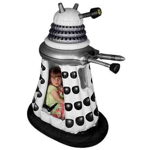 Doctor Who Childrens 6V White Supreme Dalek Ride In -