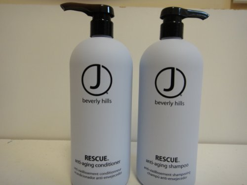 J Beverly Hills DUO Rescue Shampoo 32oz and Conditioner 32oz by J Beverly Hills