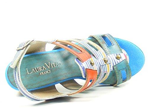 Laura 27 De Benoit 27 Vita Sandalias Sl140356 Blau Mujer Cuero Fashion rRxwqrAFE