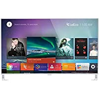 LeEco L554UCNN 55-Inch 4K Ultra HD Smart LED TV, Silver (2016 Model)