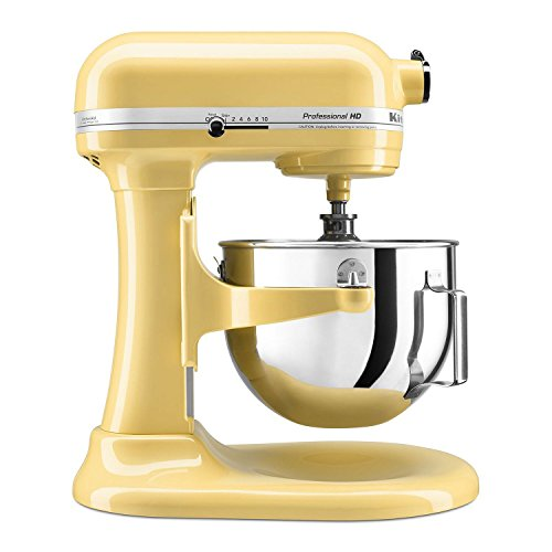 KitchenAid Professional 5-Quart Stand MixerStand Mixer, Majestic - Mixer Aid Kitchen Yellow