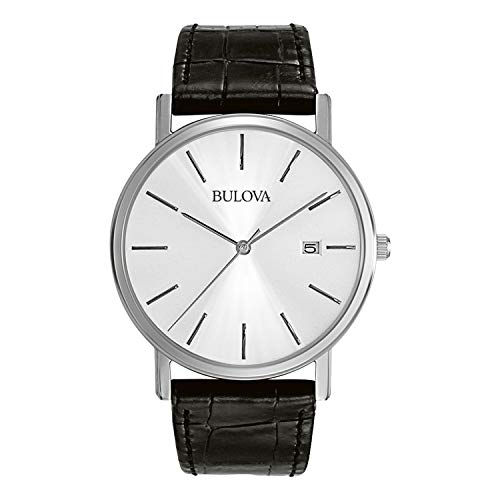 Bulova Men's 96B104 Stainless Steel Dress Watch -