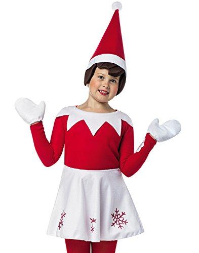 Elf on the Shelf Girls Costume Standard