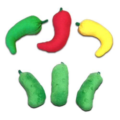 (Chili Pepper Pickle Catnip Toys)