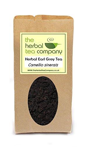 Ladies Mantle Alchemilla vulgaris Earl Grey Tea Blend - With A Hint Of Lemon - Free Infuser - Makes 60+ Cups