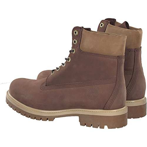 CA1LY6 Brown Nubuck brown Dark 6IN Bt Dark Premium Stivali Timberland 1T8an1