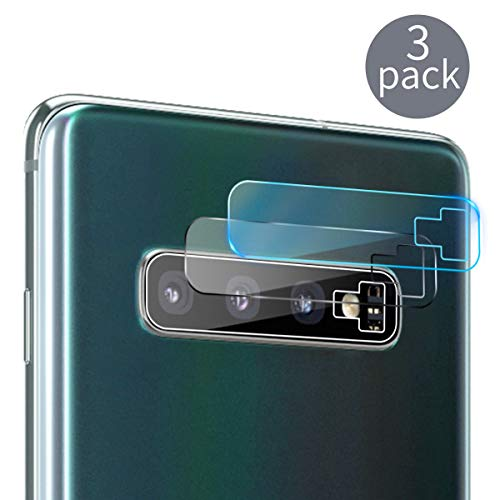 (Casetego Compatible Galaxy S10 Plus/S10 Camera Lens Protector, [3 Pack] Ultra Thin Transparent Clear Camera Tempered High Definition Camera Lens Protector for Samsung Galaxy S10 Plus/S10,Clear)