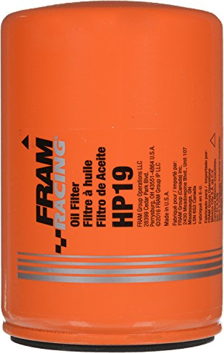 FRAM HP19 High Performance Spin-On Oil Filter - Oil Mustang Cap Chrome