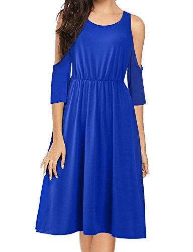 Jersey Boatneck Dress - 9