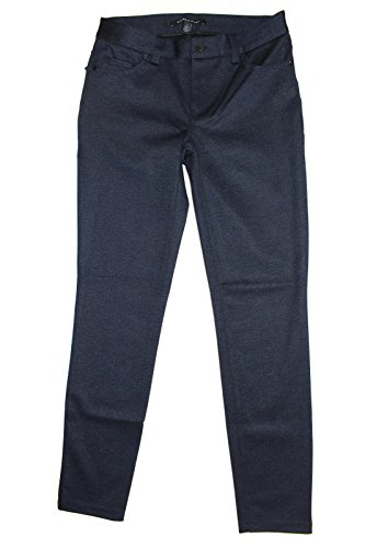 Belted Ponte Knit Dress - Andrew Marc Ladies 5-Pocket Pant (Blue, 2)