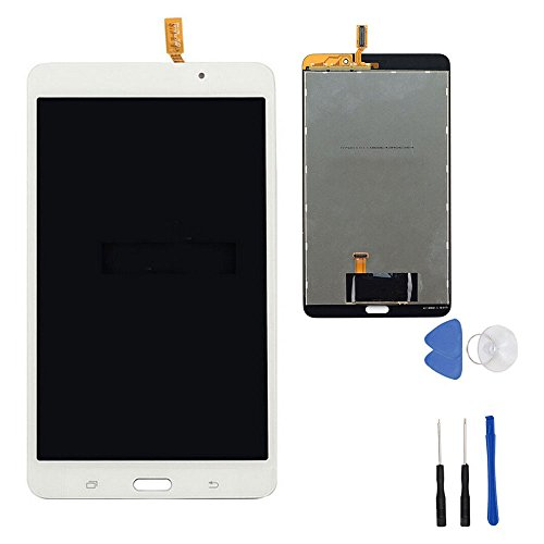 White LCD Display Touch Screen Digitizer Assembly for Samsung Galaxy Tab 4 7.0 WiFi SM-T230 T230NU With Tools(No Frame) by first choose