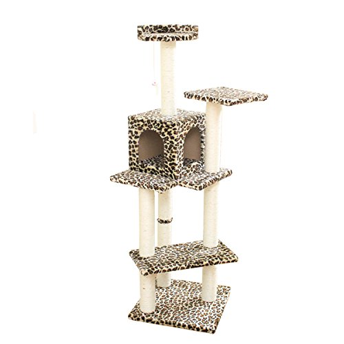 BestPet Condo Furniture Scratching Kitten
