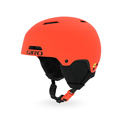 Giro Crue MIPS Snow Helmet 2019 - Kid's Matte Vermillion Small