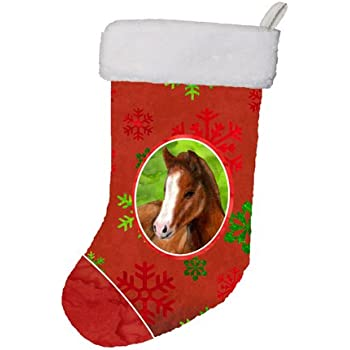 Carstens Cowgirl Leopard Christmas Stocking