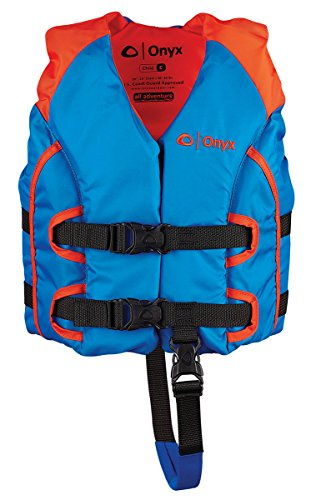 Onyx All Adventure Child Vest, Orange/Blue (Best Life Jacket For Canoeing)
