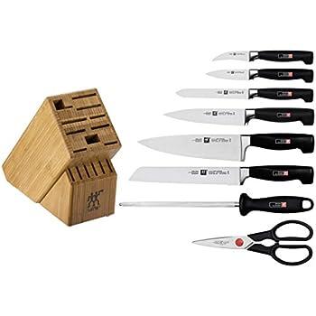 Amazon Com Zwilling Ja Henckels Four Star 9 Piece Knife