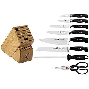 zwilling ja henckels four star 9piece knife set with block - Henckel Knife Set