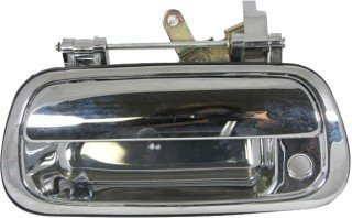 (APA Replacement For Toyota Tundra Truck 2000-2006 Rear Exterior Chrome Tailgate Handle With Keyhole 690900C010)