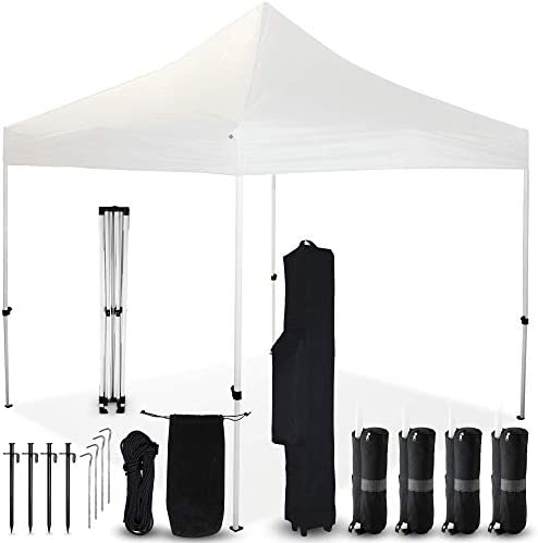 Project One 10×10 Pop Up Canopy Outdoor Tent Commercial Instant Shelter Canopies with