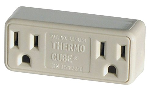 Thermo Cube Tc-3 Thermostatically Controlled Outlet - On At 35; off At 45 (Cube Weather)