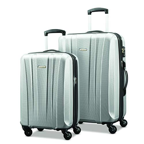 (Samsonite Pulse Dlx Lightweight 2 Piece Hardside Set (20