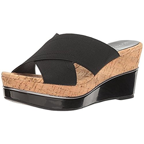 Donald J Pliner Women's Dani2 Platform Sandal, Black, 8.5 M US