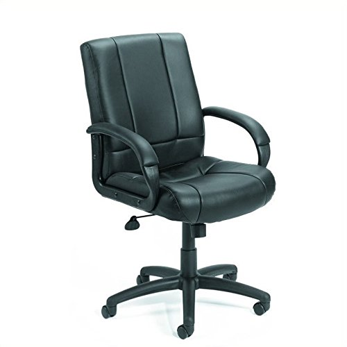 (Boss Office Products B7906 Caressoft Executive Mid Back Chair in)