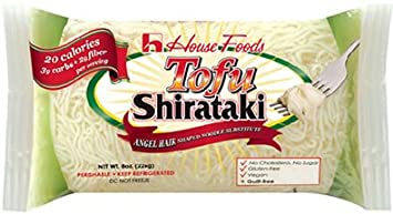 Amazon Com Tofu Shirataki Noodles 10 Bags Angel Hair Shape