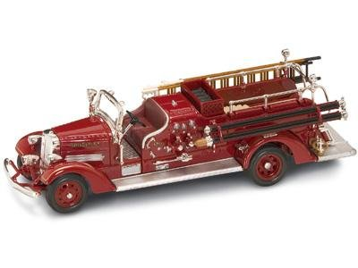 1938 Ahrens Fox VC Fire Engine Red 1/43 Diecast Car Model by OK (43 Red Diecast Model)