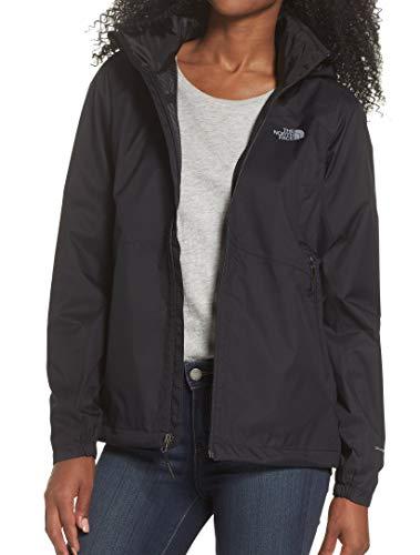 The North Face Women's Resolve Plus Jacket - Black - M (Past Season) (North Jacket Light Mountain Face)