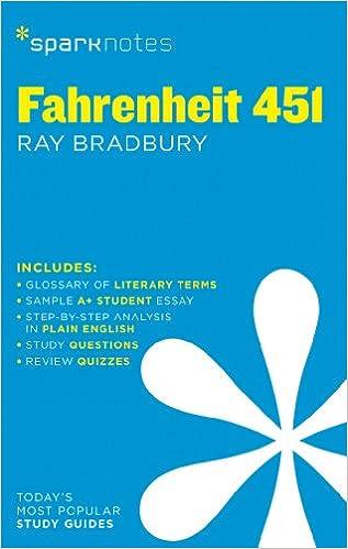 com fahrenheit sparknotes literature guide sparknotes  com fahrenheit 451 sparknotes literature guide sparknotes literature guide series 9781411469532 sparknotes ray bradbury books