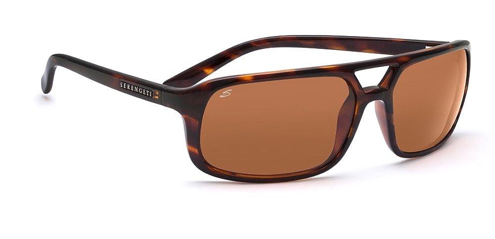 Medium Serengeti Eyewear Erwachsene Egeo Sanded Dark Brown