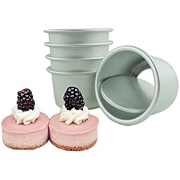 Amazon Com Norpro Nonstick Mini Cheesecake Pan With