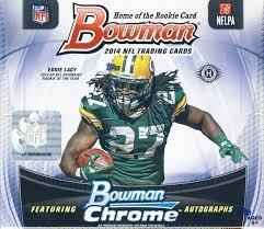2014 Bowman Hobby Football Box (4 Autographs/Box)