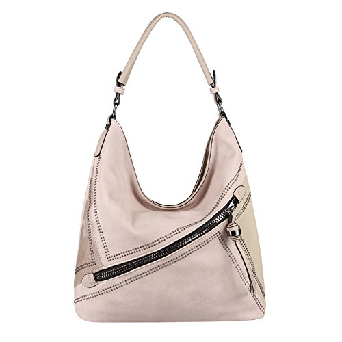 OBC Only-Beautiful-Couture - Bolso al hombro para mujer Rosa Rosa. ca.: 42x34x12 cm (BxHxT) Rosa
