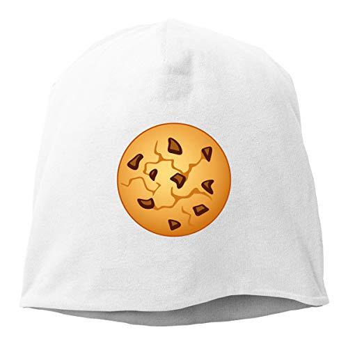 Kla Ju Woman Skull Cap Beanie Biscuits Picture Headwear Knit Hat Warm Hip-hop Hat ()