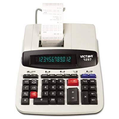 VCT1297 - Victor 1297 Two-Color Commercial Printing Calculator