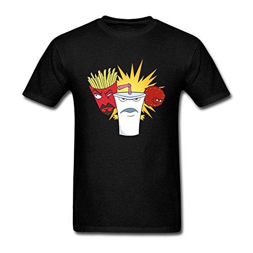 Feixia Men's Aqua Teen Hunger Force DIY Cotton Short Sleeve T Shirt