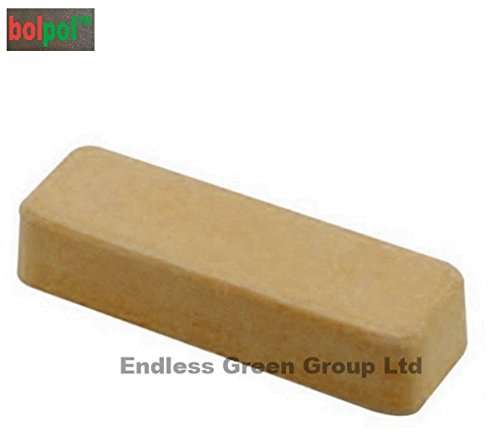 Bolpol - Buff Yellow solid compound polishing bar - Buffing bar / Polishing compound for Plastics and Resin - Buff yellow 110g Endless Green Group Ltd