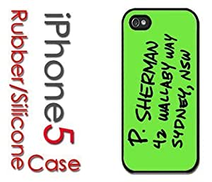 iPhone 5C (New Color Model) Rubber Silicone Case - P Sherman Address in Sydney, NSW 42 Wallaby Way