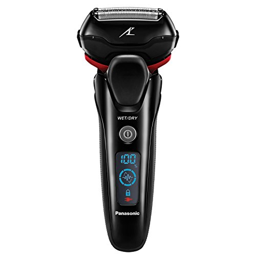 Panasonic ES-LT3N-K Arc3 3-Blade Electric Shaver with Built-In Pop-up Trimmer, Active Shave Sensor Technology and Wet Dry - Panasonic Electric Shavers
