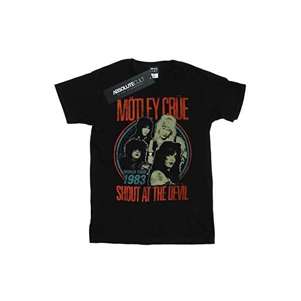 Absolute Cult Motley Crue Men's Vintage '83 Shout at The Devil T-Shirt