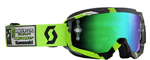 Scott Hustle MX Pro Circuit Monster Energy LE Goggles - Black/Green / One Size