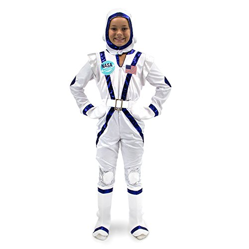 Astronaut Suit For Kids (Spunky Space Cadet Children's Halloween Dress Up Theme Party Roleplay & Cosplay Costume)