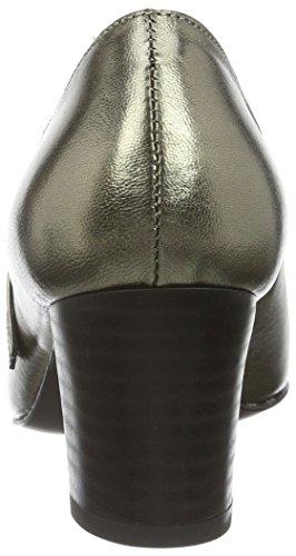 Pumps Grey Women 7500 Closed Diavolezza Toe Silver Pa7vPqw