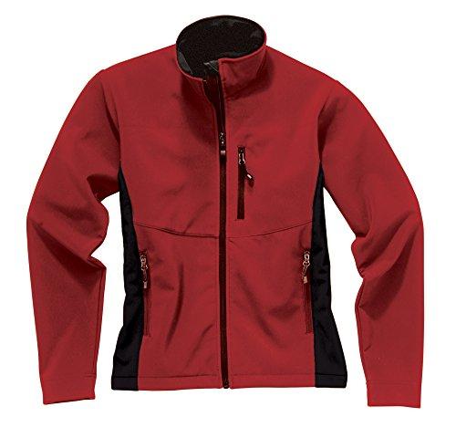 Imperméable Softshell Red respirante Bright Storm Polaire black En Femme Creek Pour qARUC