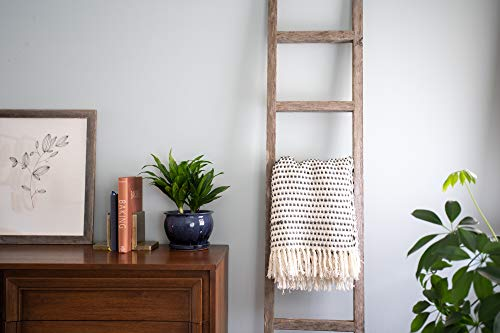 BarnwoodUSA Rustic Farmhouse Decorative Ladder - Our 6 ft Ladder can be Mounted Horizontally or Vertically and is…