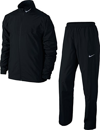 Nike Storm Fit Rainsuit - Sml-2XL - Black - M (Nike Raincoat Jackets)
